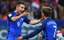 Pháp đại thắng Bulgaria nhờ hàng công Atletico Madrid