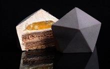 Kết hợp bánh gato với hình học, chúng ta sẽ có những tác phẩm ẩm thực căng đét như thế này
