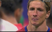 Torres và một nửa thành Madrid chìm trong nước mắt