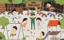 Dự án gây quỹ mang sân chơi và nhà vệ sinh mới cho đám học trò nghèo ở đảo Hòn Chuối!