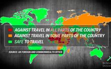 Nếu không muốn gặp nguy hiểm khi đi du lịch, bạn hãy cân nhắc trước khi đến những nước này