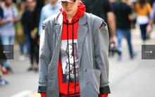 """Kelbin Lei lại một lần nữa """"chễm chệ"""" trên Vogue Ý và hàng loạt blog thời trang"""