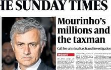 Giấu tài khoản bí mật, Mourinho sắp bị điều tra trốn thuế