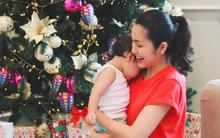 Đây là hạnh phúc đơn giản mà ấm áp của Tăng Thanh Hà ngày Giáng sinh