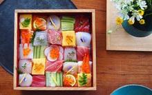 Sushi miếng xưa rồi, bây giờ người Nhật chuyển qua ăn sushi xếp hình đẹp như tranh cơ