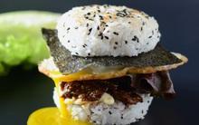 Thử một lần là mê ngay với burger cơm bòTeriyaki mới lạ