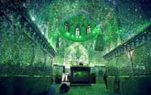 Lạc lối trong không gian xanh huyền bí của lăng mộ Hồi giáo