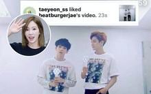 Taeyeon lại có động thái bất ngờ khi nhấn nút thích video của tình cũ Baekhyun
