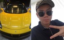 """Em trai Phan Thành """"khoe"""" quà tốt nghiệp là siêu xe Ferrari trị giá hơn 16 tỷ đồng"""