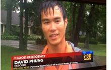 Chàng trai gốc Việt được ca ngợi là anh hùng sau khi liều mình cứu người phụ nữ gặp nạn trong trận lũ ở Mỹ