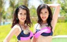 Thí sinh Hoa hậu bản sắc Việt toàn cầu khoe dáng với bikini
