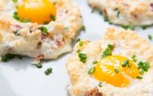 Món trứng hình đám mây: ăn vào cũng xốp nhẹ bồng bềnh như mây