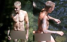 Sau Orlando Bloom, đến lượt Justin Bieber bị tung ảnh khỏa thân tắm suối bên mẫu nữ