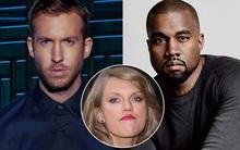 """Taylor Swift hết bị Calvin phớt lờ, lại bị Kanye West """"xỏ xiên"""" tại VMAs 2016"""