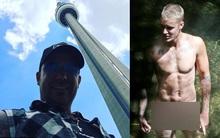 """Cha Justin Bieber tự hào về """"của quý"""" của con trai sau loạt ảnh nude"""