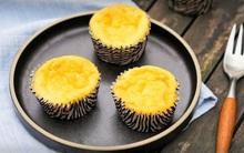 Làm cupcake sữa chua cực ngon chỉ từ 5 nguyên liệu đơn giản