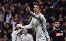 Ronaldo ghi dấu ấn, Real đặt một chân vào tứ kết Champions League