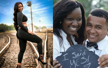 Chụp ảnh quảng cáo trên đường ray, mẫu nữ đang mang bầu chết thảm dưới bánh tàu hỏa