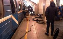 Mẹ dùng thân che chắn cho con gái thoát chết trong vụ nổ bom ở ga tàu điện ngầm Nga