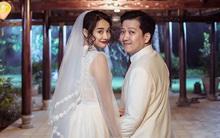 Lại thêm loạt ảnh Trường Giang và Nhã Phương mặc đồ cưới gây xôn xao cộng đồng mạng