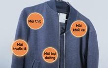 Khử mùi thức ăn và khói bụi bám trên quần áo chỉ trong vòng 1 phút 30 giây