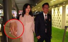 """Hoa hậu Hồng Kông trẻ đẹp và hạnh phúc bên chồng đại gia, khoe nhẫn kim cương """"khủng"""" với nụ cười rạng rỡ"""