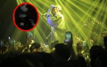 """Clip: Sơn Tùng được vệ sĩ hộ tống bằng """"xe máy kẹp 3"""" thoát khỏi vòng vây fan"""