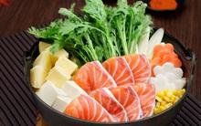 Hãy để lẩu cá hồi Hokkaido đưa bạn đến mùa thu nước Nhật trong tích tắc