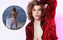 Chàng người mẫu 17 tuổi tung tăng khoe trọn vòng 3 trên sóng truyền hình