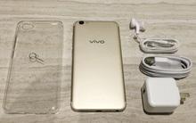 Mở hộp Vivo V5s: điện thoại trang bị camera selfie lên đến 20 MP, giá gần 7 triệu đồng
