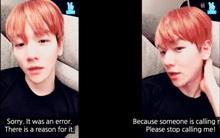 Baekhyun (EXO) phải xin lỗi mọi người vì bị nháy máy liên tục trong lúc đang livestream