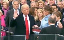 Ông Donald Trump tuyên thệ, chính thức trở thành tân Tổng thống Mỹ