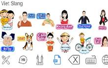 """Sticker tiếng Việt siêu ngộ nghĩnh: Trào lưu hot """"càn quét"""" thế giới ảo"""