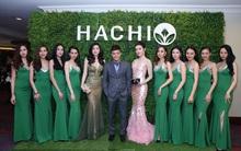 Á hậu Huyền My, Tú Anh, diễn viên Hồng Đăng rạng rỡ trong buổi ra mắt thương hiệu Hachi