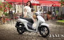 Cận cảnh Yamaha Janus – Mẫu xe tay ga năng động, trẻ trung dành cho sinh viên trước thềm năm học mới