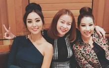 Hoa hậu Hải Dương khoe ảnh ăn tối cùng Hoa hậu Hoàn vũ Hàn Quốc