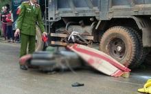 Lào Cai: Ô tô tải cán ngang xe máy, 1 người tử vong