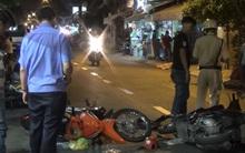 TP.HCM: Cô gái chạy xe tay ga đâm vào đôi vợ chồng, cả 3 nguy kịch