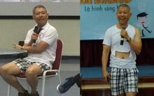 Cư dân mạng tranh cãi về việc Phó hiệu trưởng ĐH Hoa Sen mặc quần đùi, áo thun trong giờ giảng bài