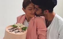 """Zayn cho cả Gigi Hadid lẫn fan """"ăn bánh GATO"""" nhân sinh nhật bạn gái"""