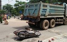 TP. HCM: Người phụ nữ bị xe ben cán tử vong sau khi chở con đi học