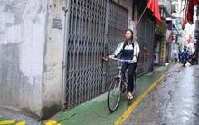 """Con ngõ nhỏ dễ thương với """"làn đường ưu tiên"""" cho trẻ em đầu tiên ở Hà Nội"""