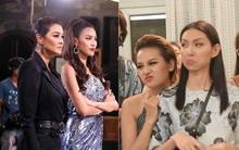 """Cả dàn Hoa hậu, ca sĩ, diễn viên ở """"The Face"""" cũng không bằng cuộc xô xát tại """"Next Top Model"""""""