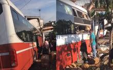 Lâm Đồng: Xe khách Phương Trang và Thành Bưởi va chạm rồi lao thẳng vào nhà dân khiến nhiều người thương vong