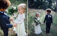 Cho các con nhỏ chụp ảnh cưới, 2 bà mẹ người Mỹ bị cư dân mạng chỉ trích dữ dội