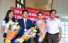 Nhìn trường nhà người ta đây, cả 4 học sinh đi thi Olympic Quốc tế đều đạt HCV - HCB!