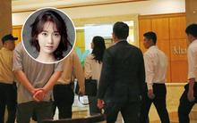 Sau khi hào hứng chào fan Việt ở sân bay, Yoona (SNSD) trở về khách sạn vào nửa đêm