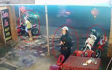 Clip: Ba thanh niên dàn cảnh cướp xe máy trước mắt nữ nhân viên quán ăn ở Sài Gòn