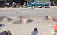 Hưng Yên: Bị cuốn vào gầm xe tải sau va chạm cực mạnh, 3 người tử vong trong đó có 2 cô gái chỉ 14 tuổi
