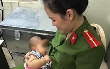 Hà Nội: Bé trai khát sữa bị mẹ bỏ rơi trong nhà nghỉ, nữ công an động lòng cho bú và đưa về nhà chăm sóc